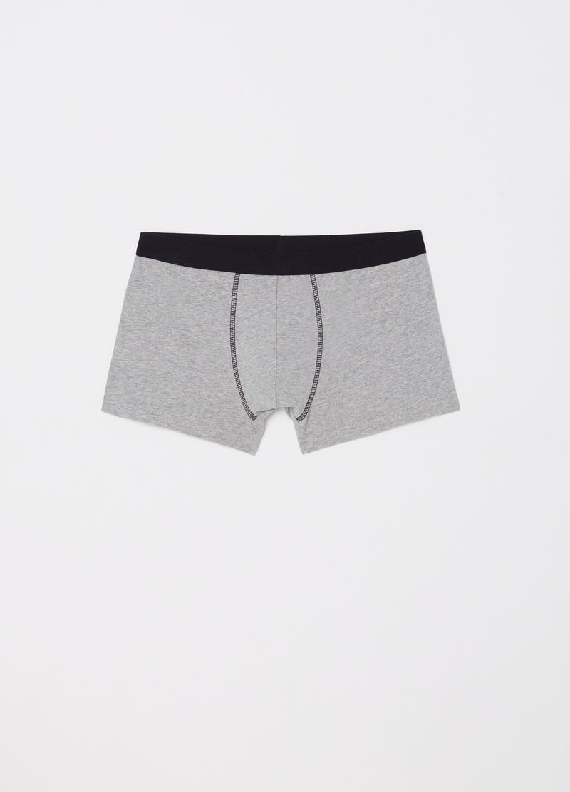 Three-pack stretch cotton boxer shorts image number null