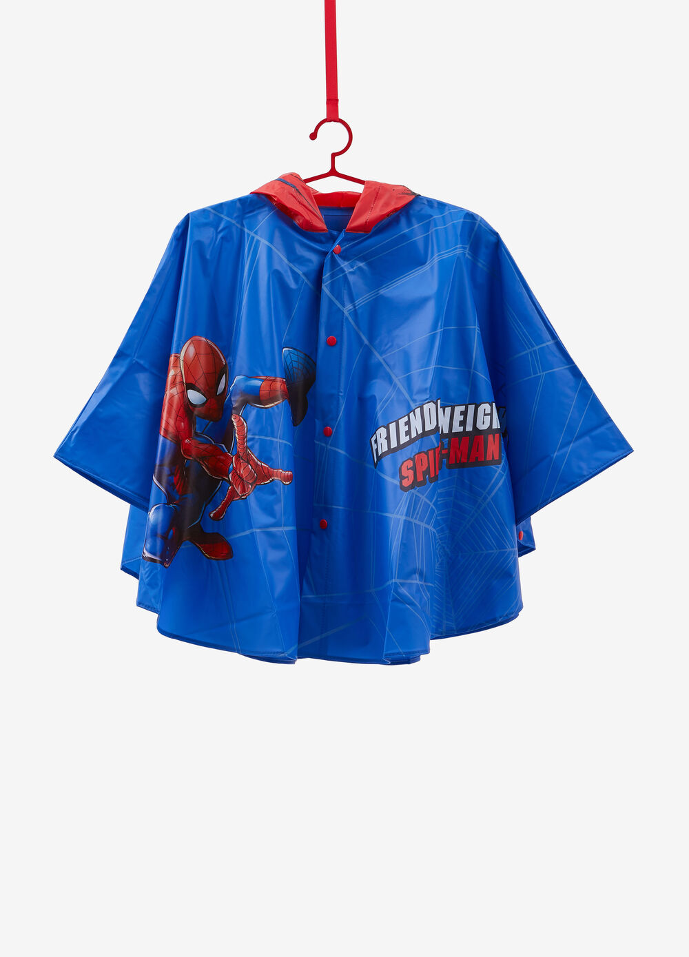 Poncho antipioggia fantasia Spiderman