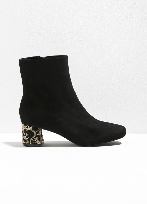 Ankle boots with damask embroidery | OVS
