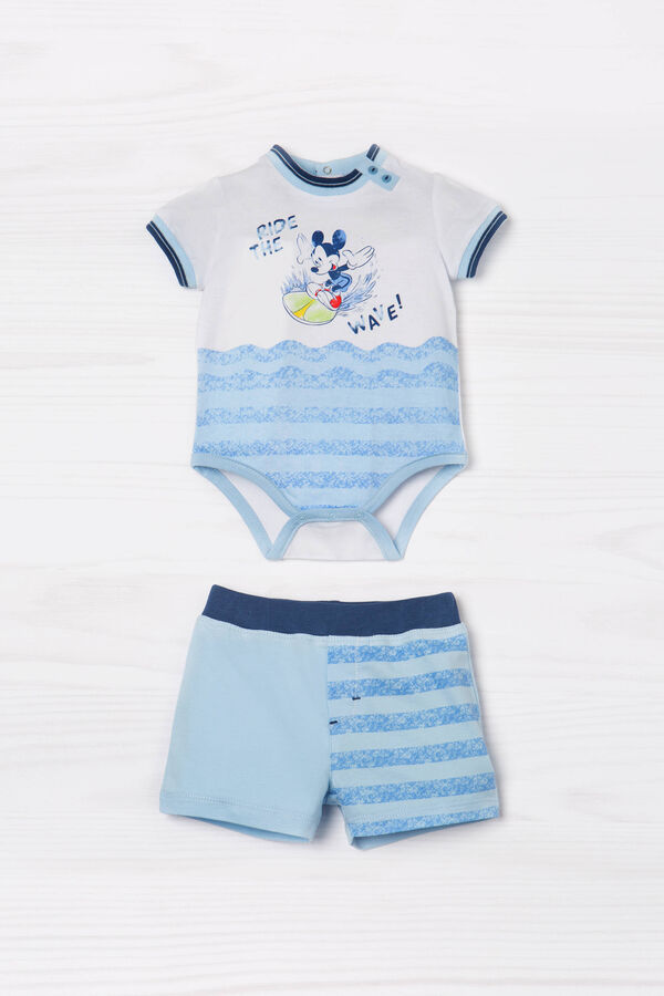Striped pattern cotton outfit | OVS