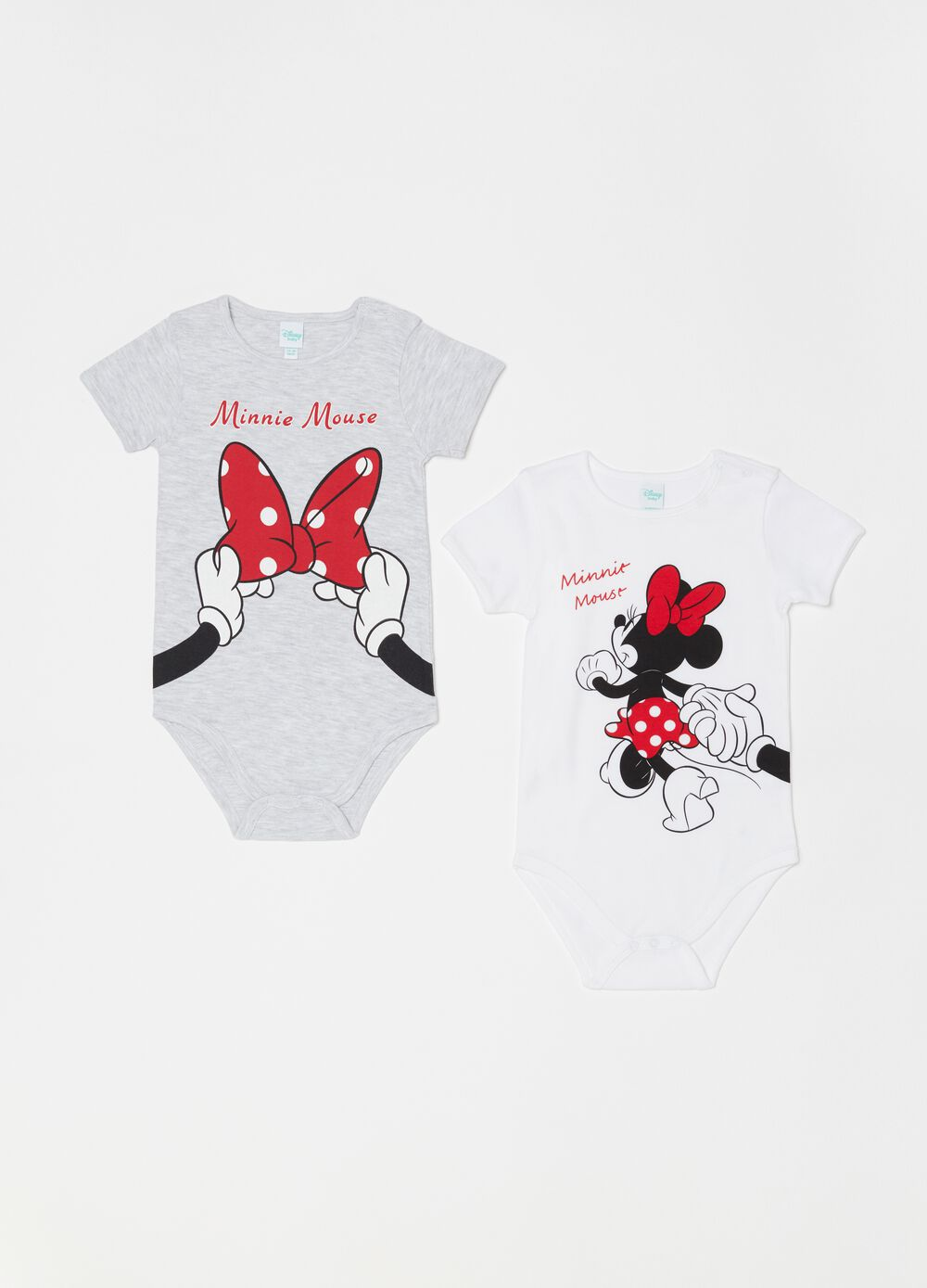 Set due body maniche corte Disney Minnie