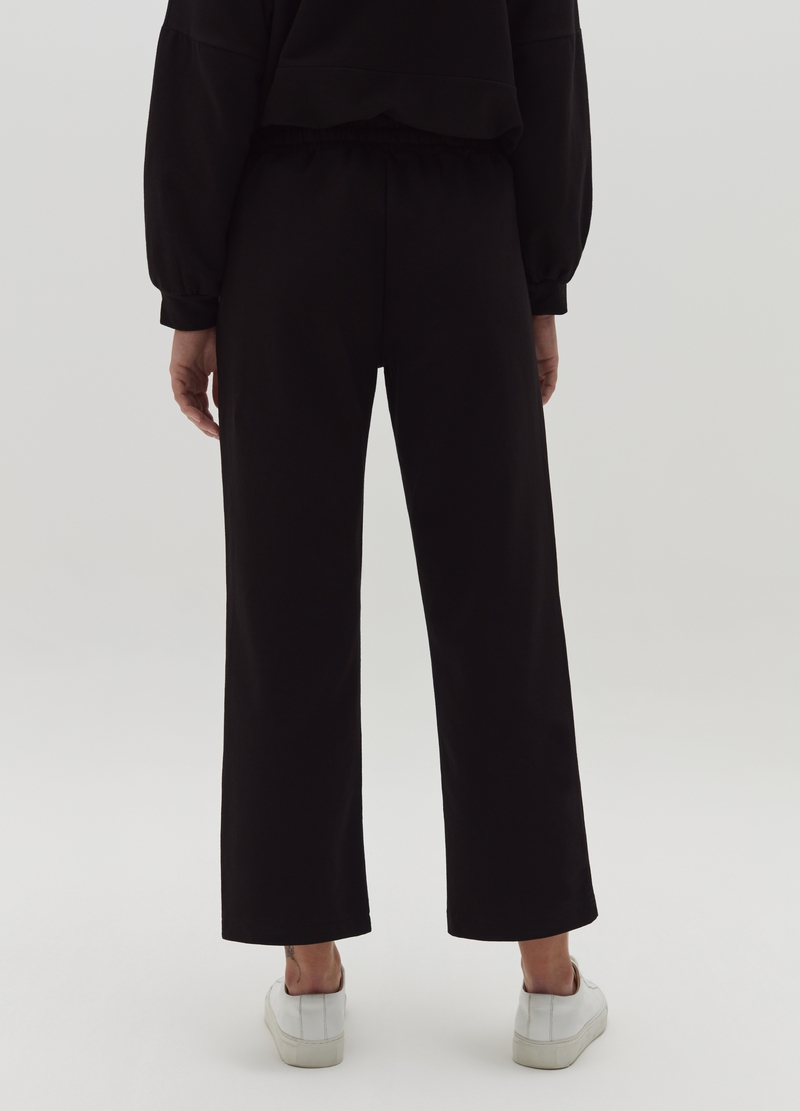 Joggers wide leg con coulisse Hybrid image number null