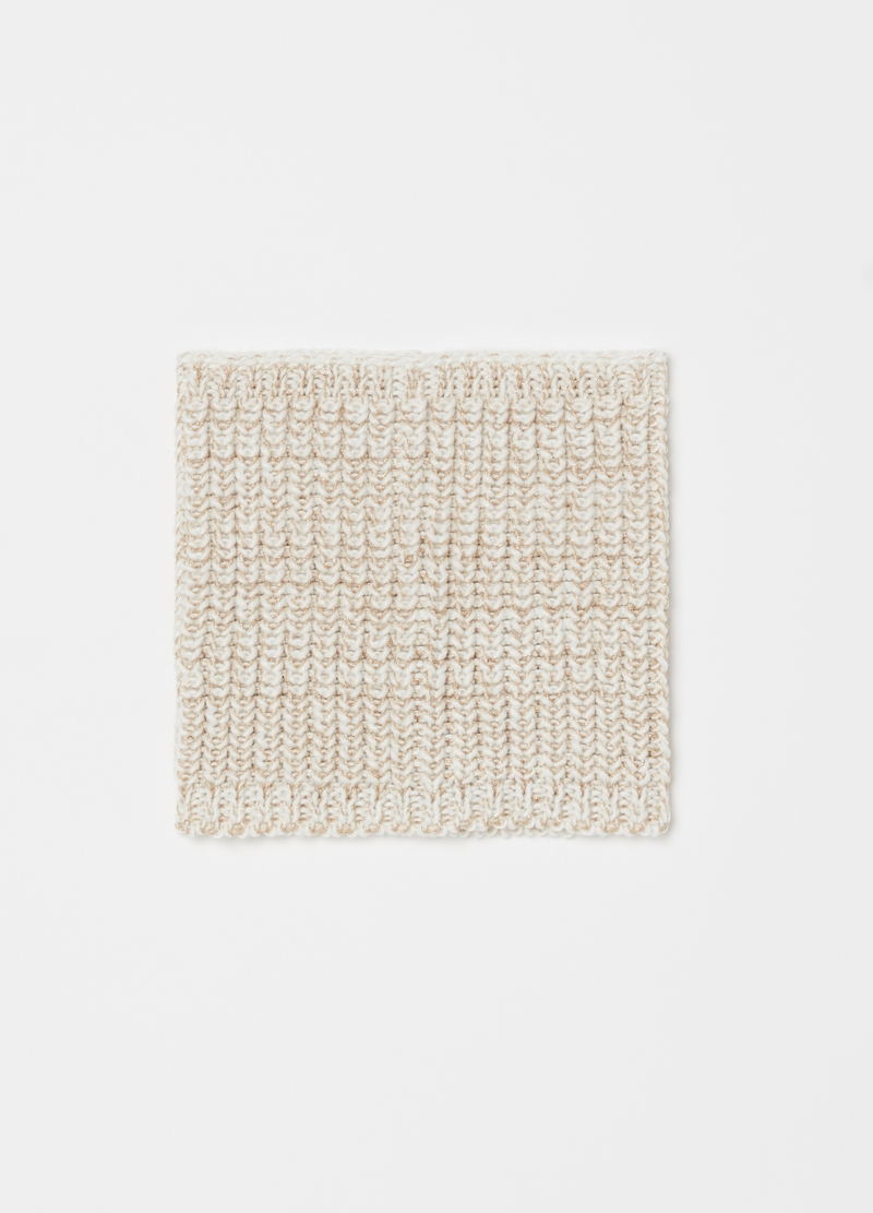 Scaldacollo tricot con lurex image number null