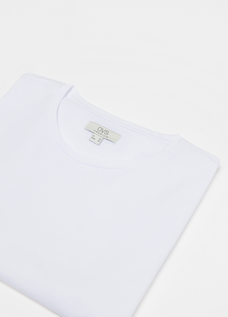 Premium undershirt in Supima cotton image number null