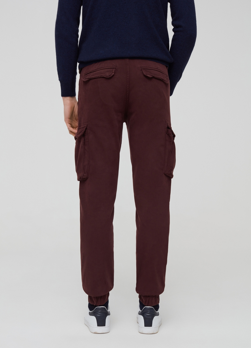 Cargo trousers with stretch hem image number null