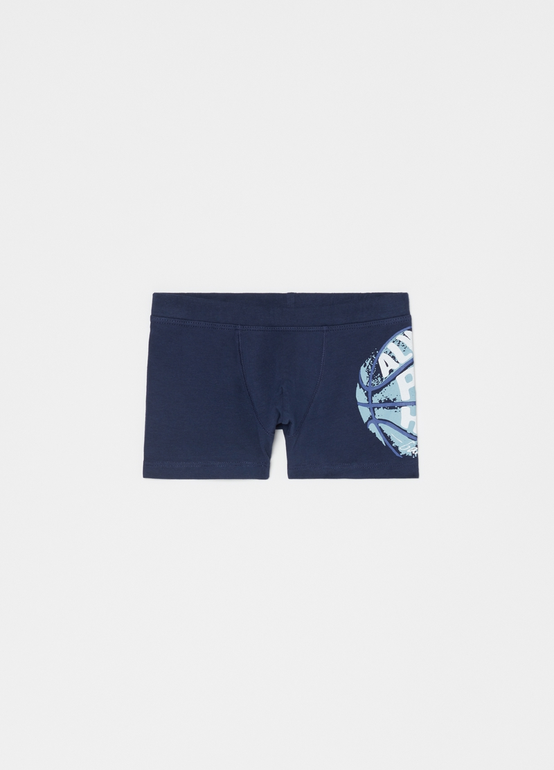 Three-pack stretch boxer shorts with sport pattern image number null