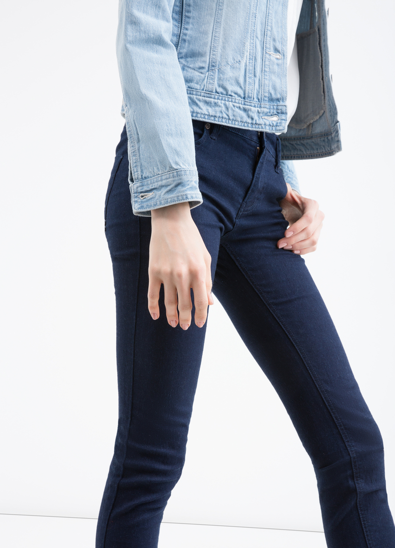 Skinny stretch jeans image number null