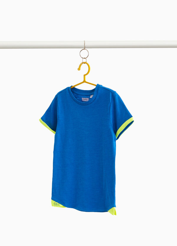 T-shirt in cotone con stampa