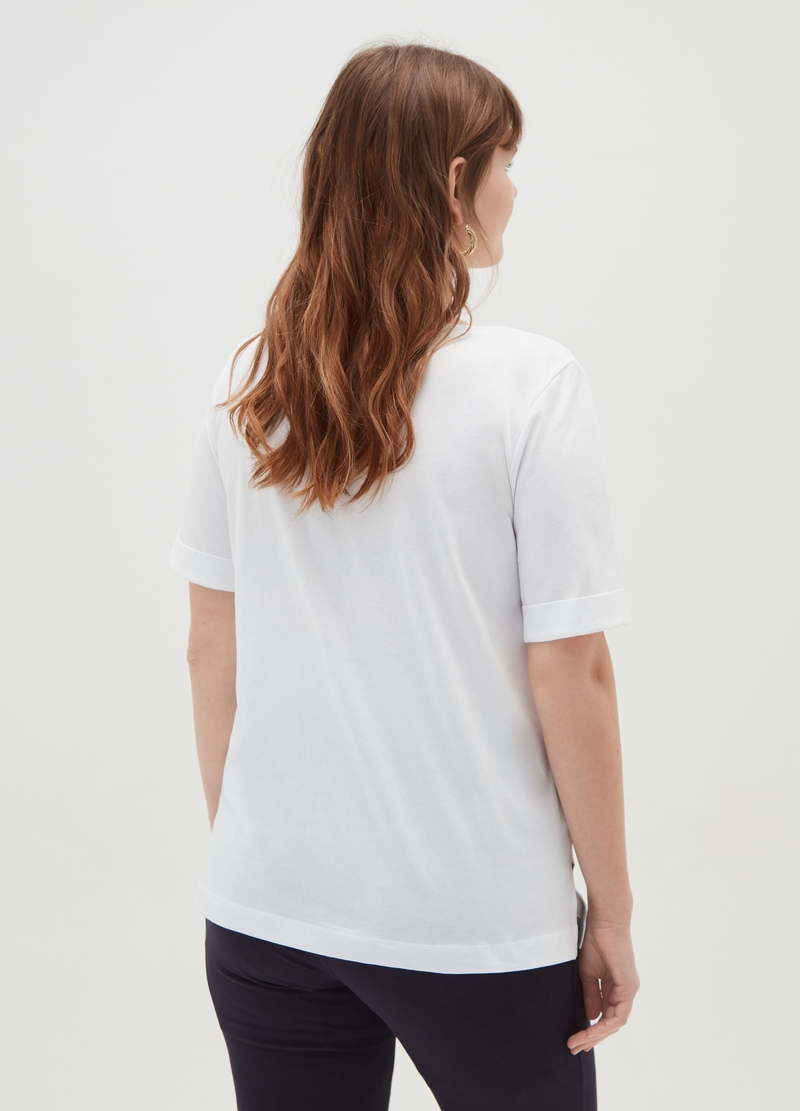 T-shirt puro cotone Curvy image number null