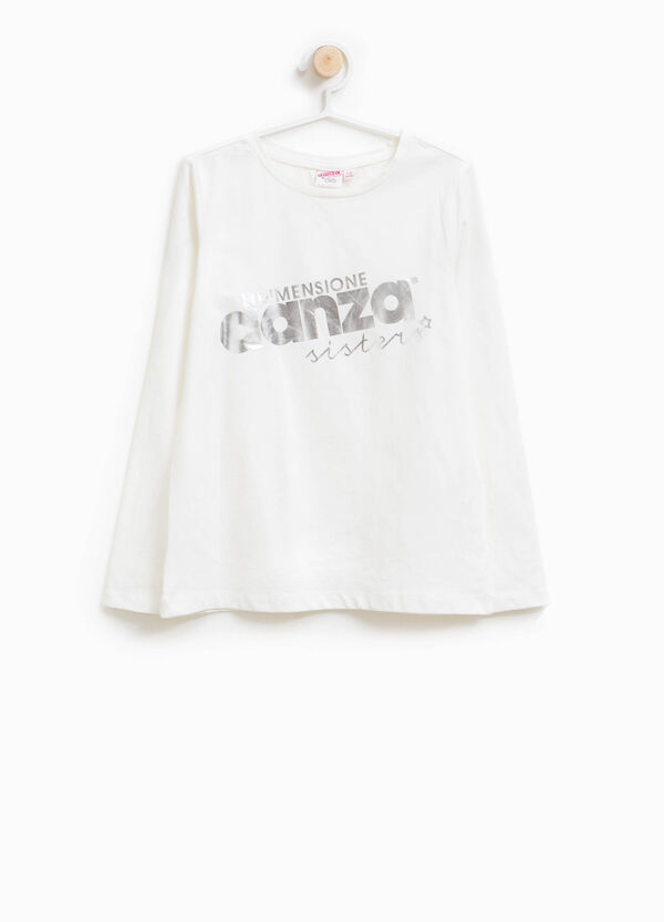 T-shirt cotone stretch Dimensione Danza