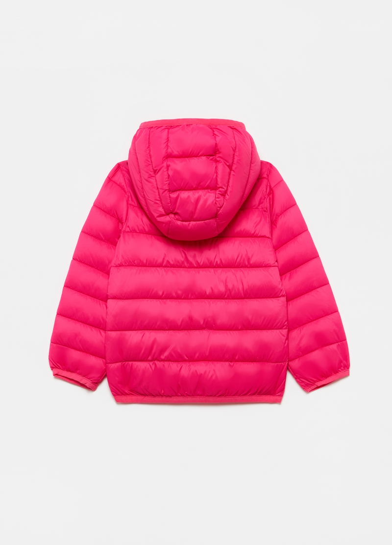 Down jacket with hood image number null