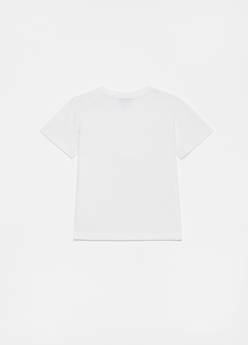 Cotton T-shirt with Beetle print image number null