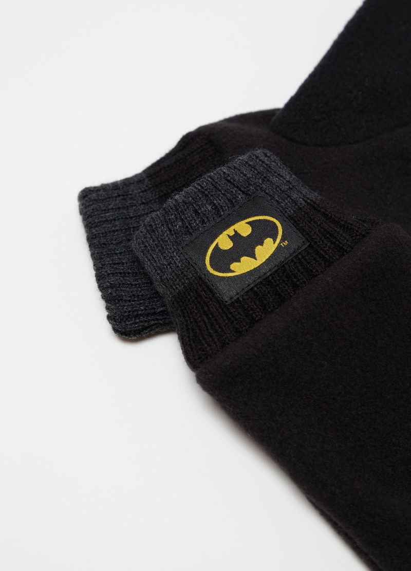 Warner Bros Batman gloves in fleece image number null