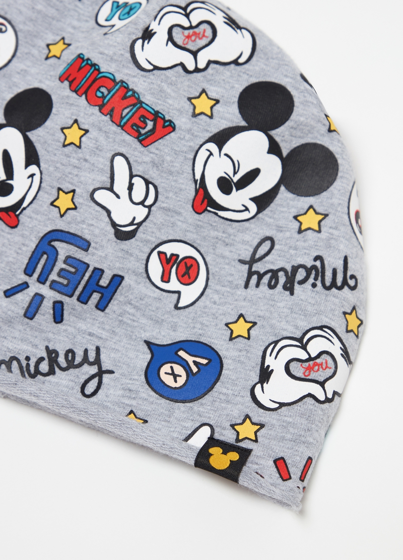 Hat with Disney Mickey Mouse pattern image number null