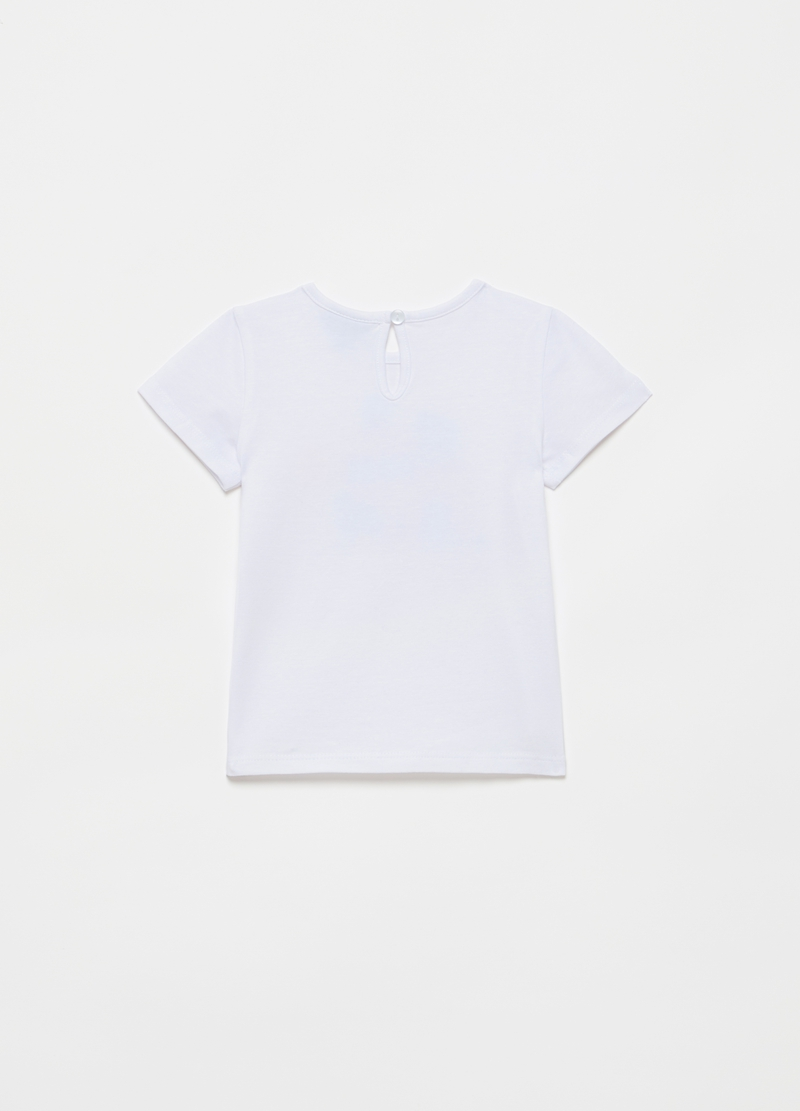 T-shirt girocollo con stampa image number null