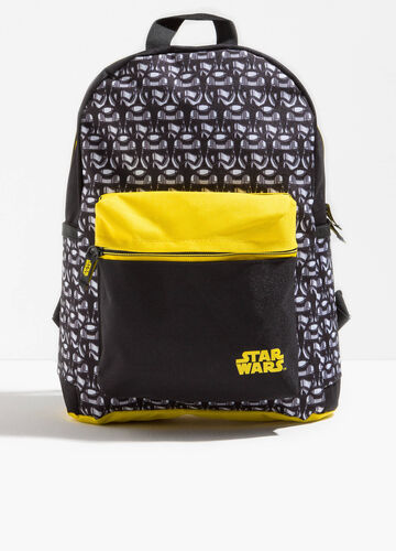 Back pack with Star Wars pattern and print
