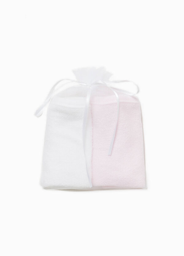 Two-pack solid colour towels | OVS
