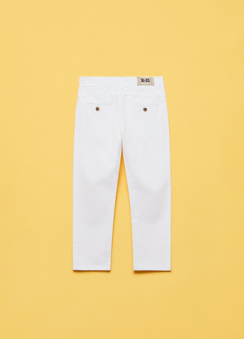 Cotton chino trousers image number null