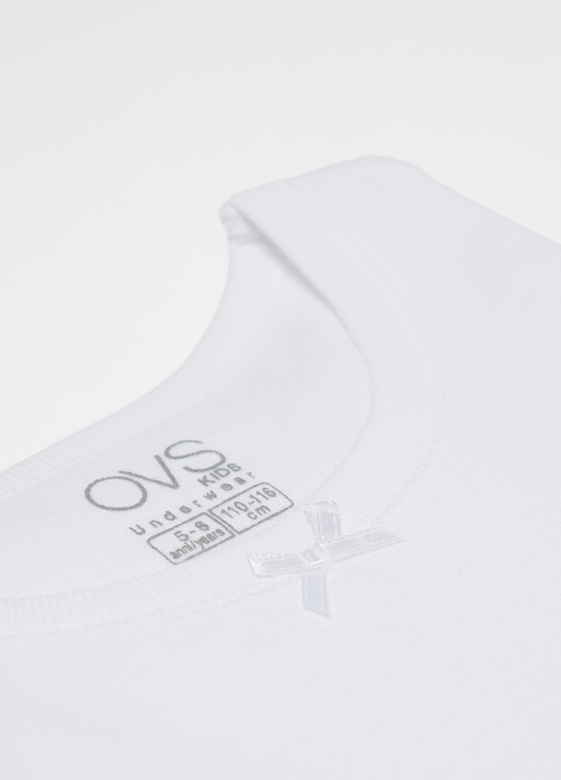 Stretch undershirt in warm organic cotton image number null