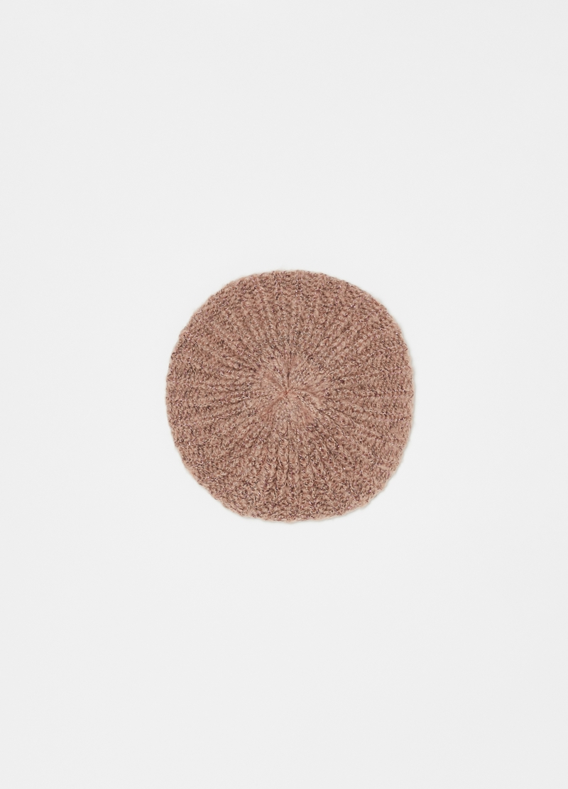 Beret with lurex image number null