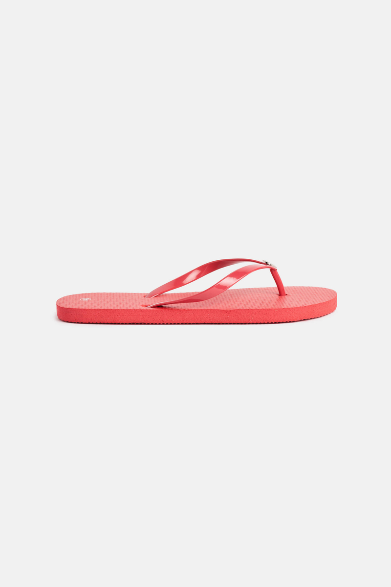 Flip-flops with metal decoration image number null