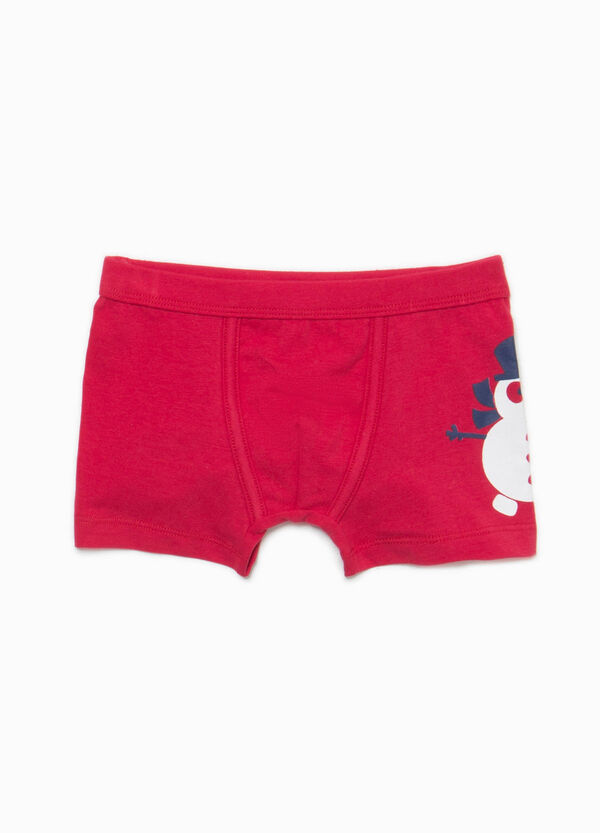 Better Cotton boxers with print | OVS