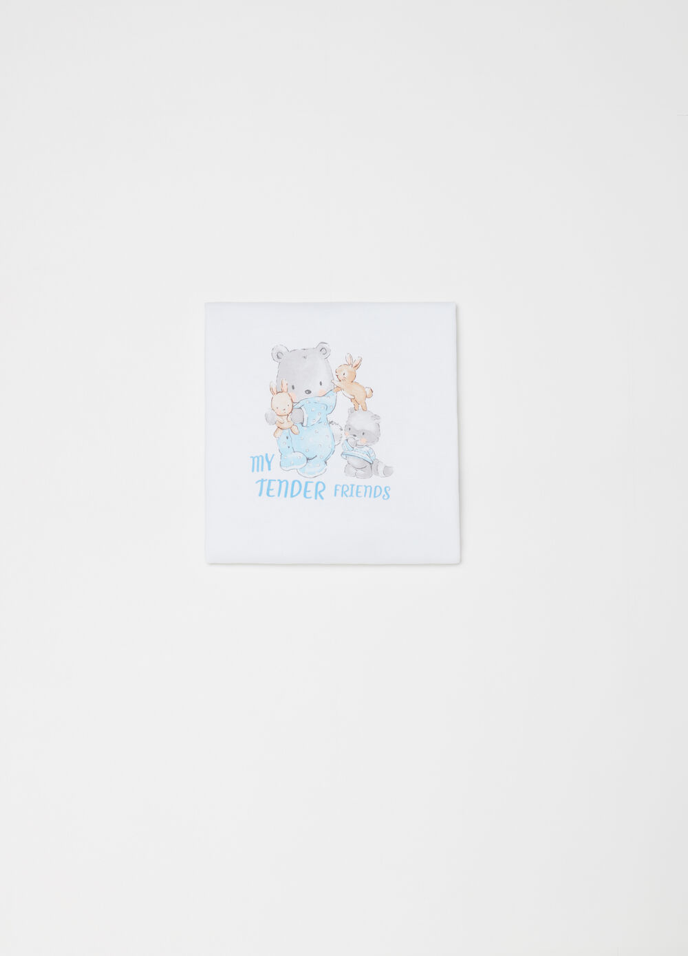 100% cotton blanket with cute print