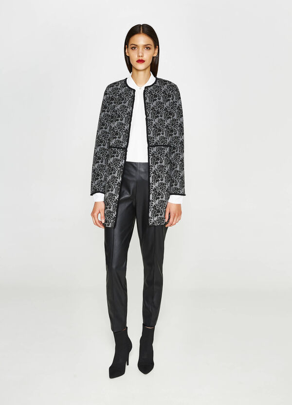 Stretch jacket with floral design | OVS