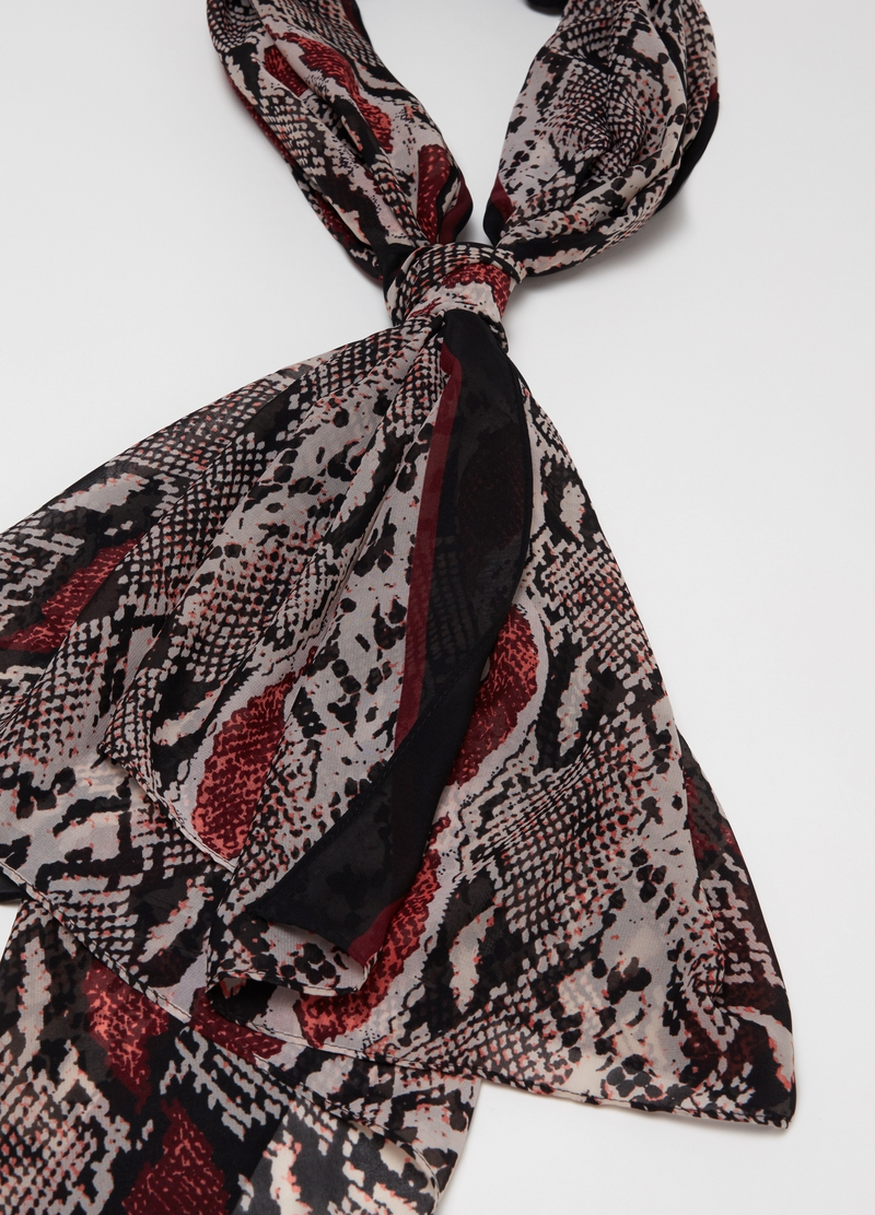 Animal patterned pashmina image number null