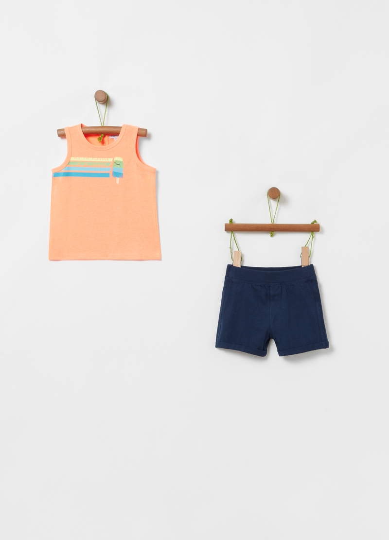 Jogging set with ice lolly print image number null