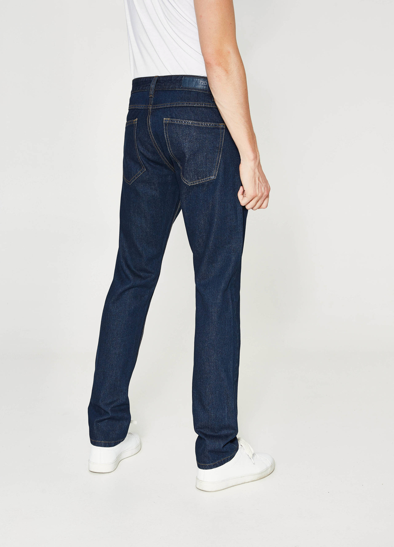 Jeans straight fit tinta unita image number null