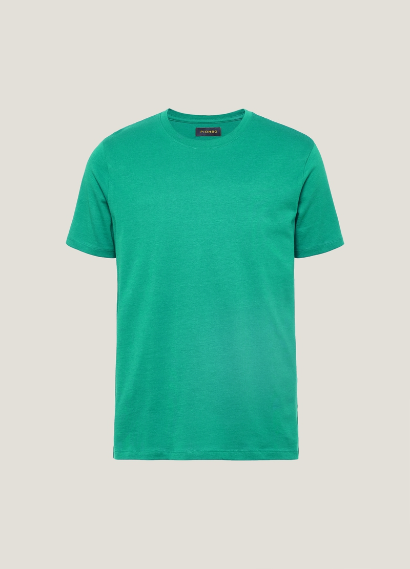 PIOMBO T-shirt in cotone Supima image number null