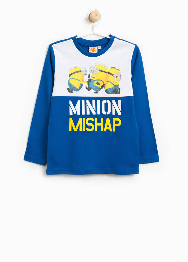 T-shirt in cotone stampa Minions