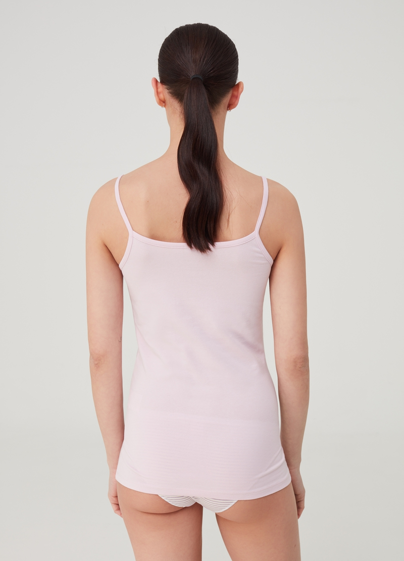 Two-pack under vests with round neck image number null