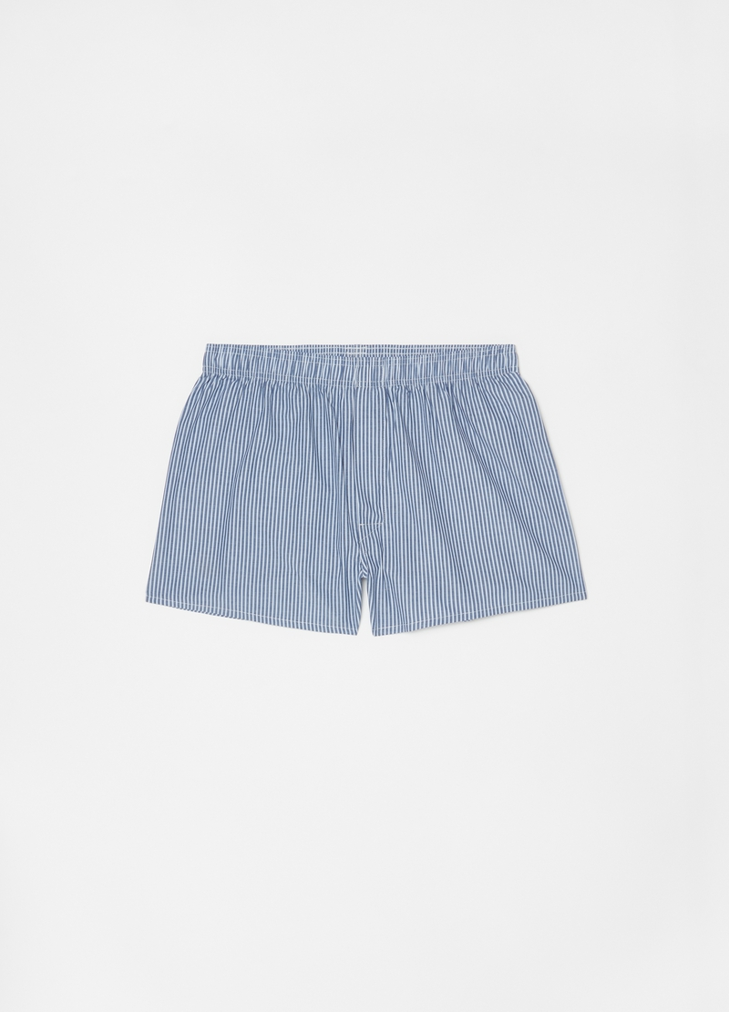 Three-pack boxer shorts in 100% cotton image number null