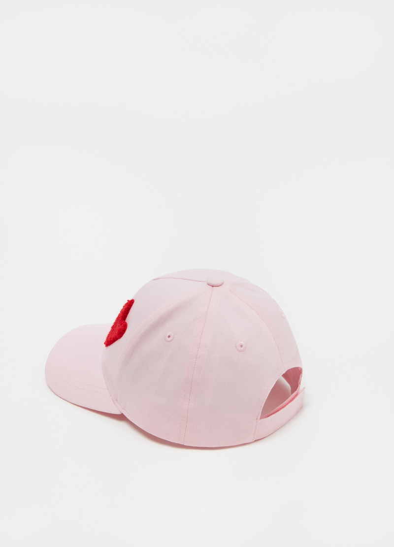 Baseball cap with heart image number null