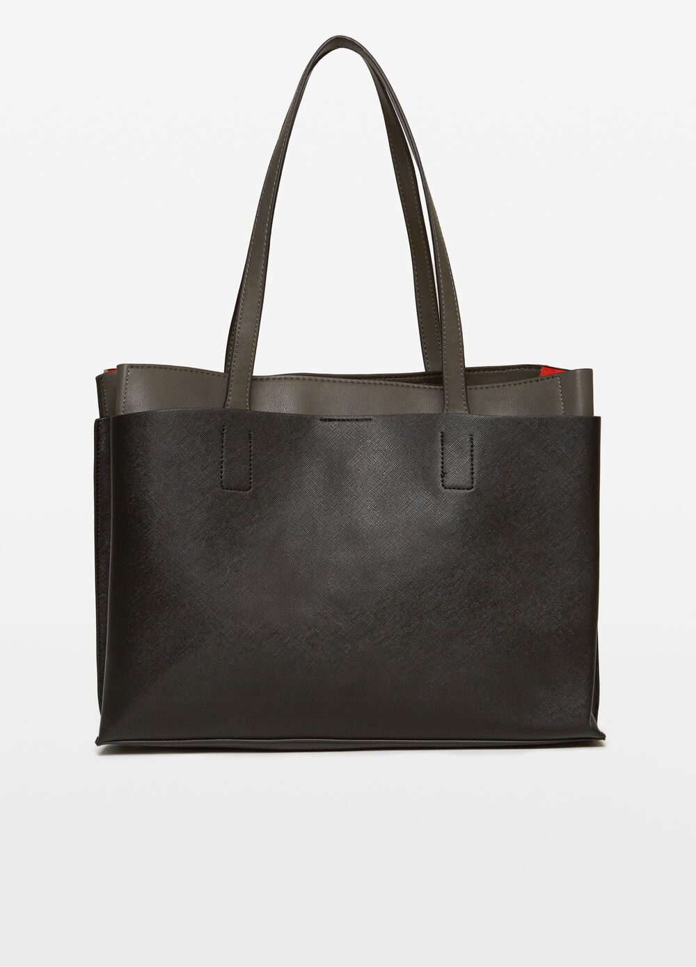 Two-tone office bag