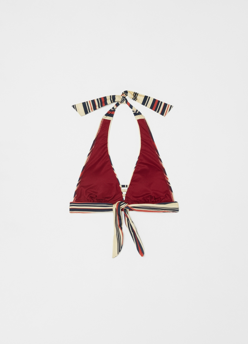 Great-fit triangle bikini top image number null