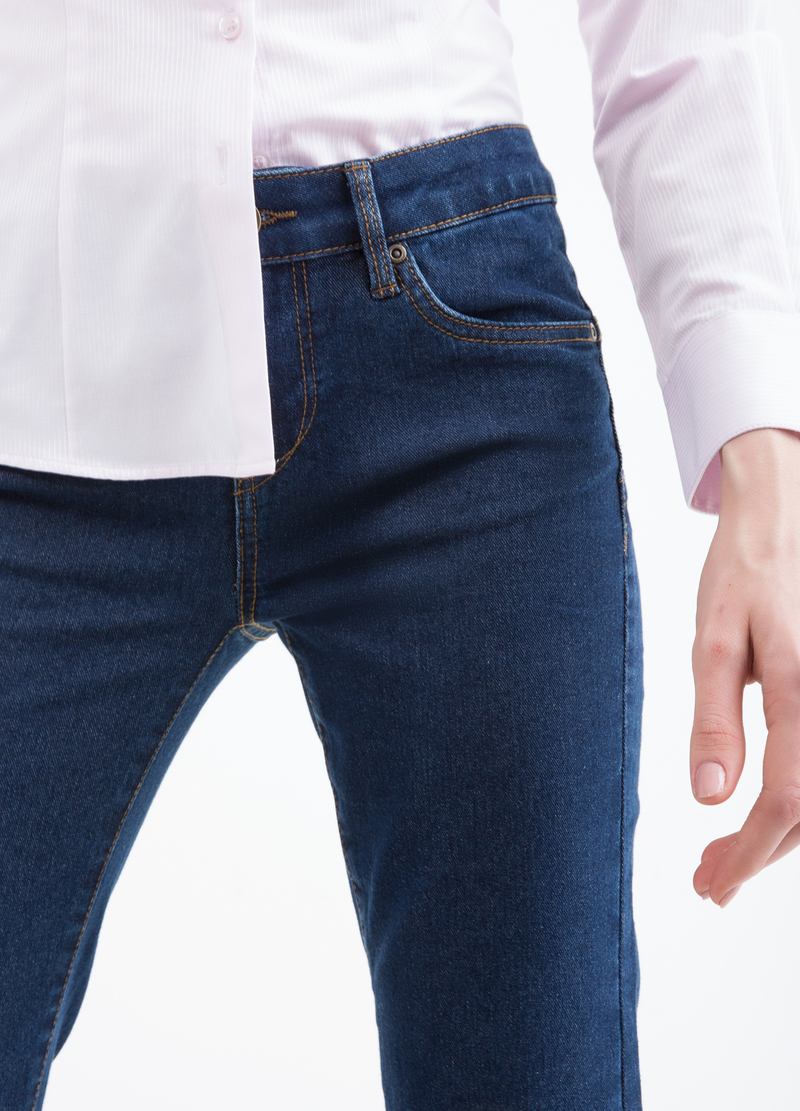 Regular-fit stretch jeans image number null