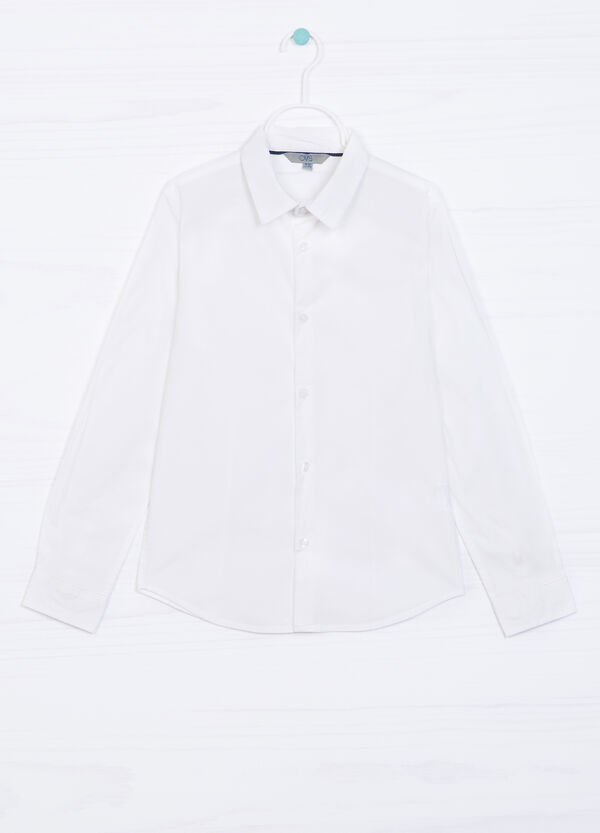Shirt in stretch cotton | OVS