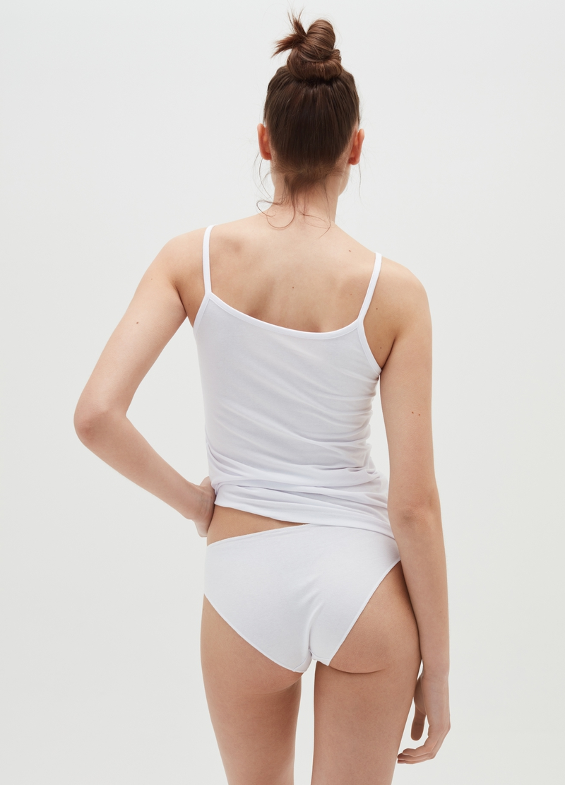 Bipack slip in cotone stretch image number null