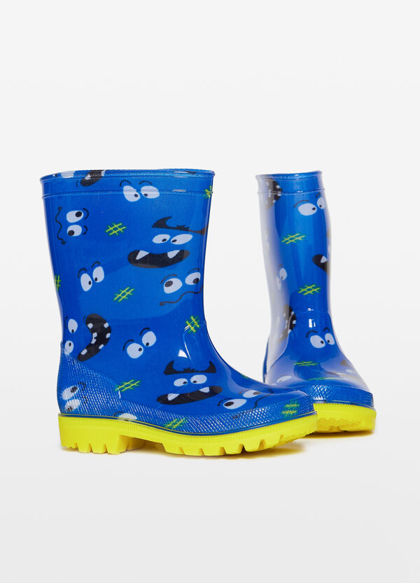 Monster Patterned Rain Boots OVS Magnificent Patterned Rain Boots