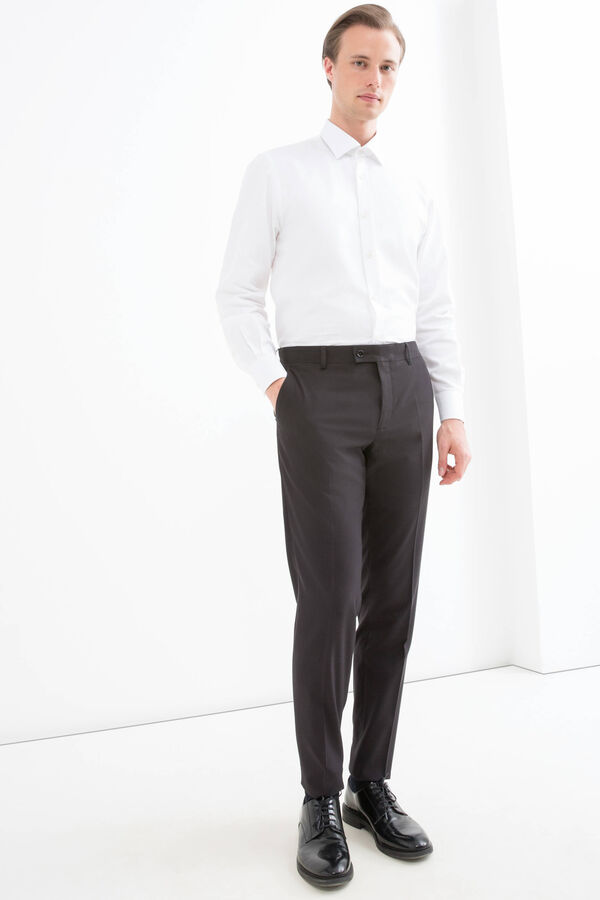 Pantaloni viscosa slim fit | OVS