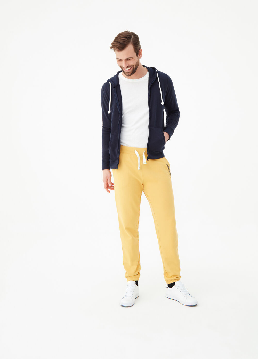 Jogger trousers in organic cotton