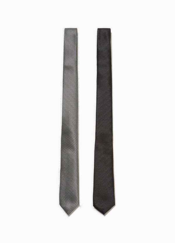 Two-pack ties patterned and striped | OVS