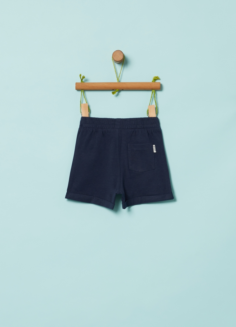 Shorts in 100% organic cotton image number null