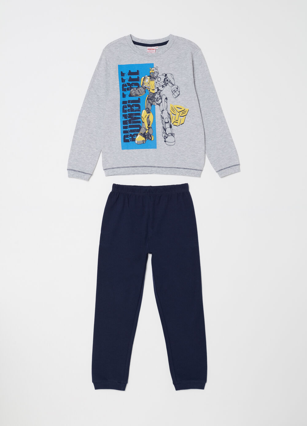 Transformers pyjamas with top and trousers