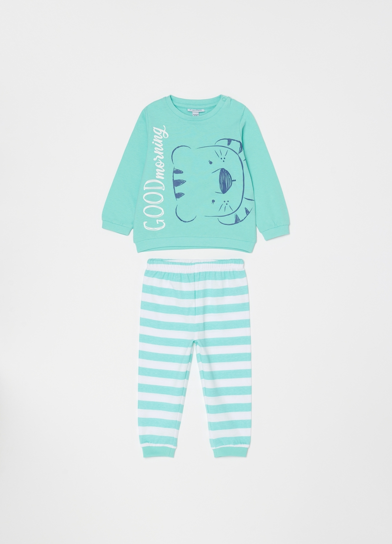 100% cotton printed pyjamas image number null