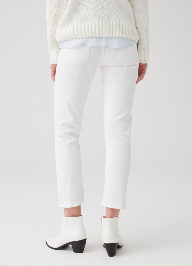 Jeans straight fit stretch cinque tasche