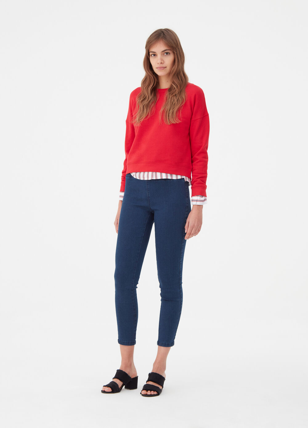 Soft super-stretch jeggings